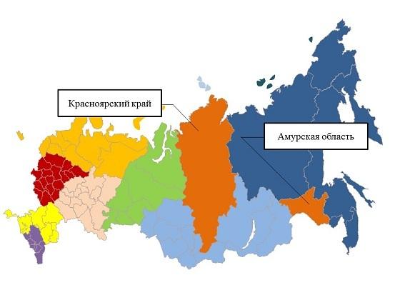 Внимание, жители и гости Красноярского края и Амурской области!